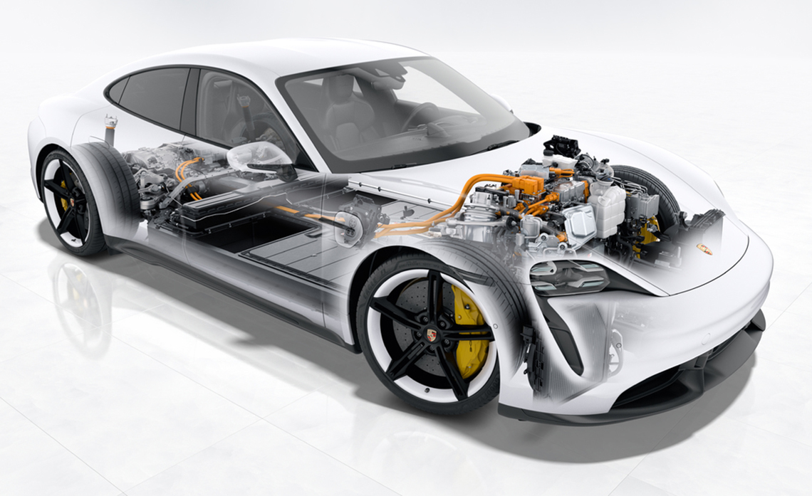 Các nhà khoa học tuyên bố Taycan là mẫu xe tân tiến nhất thế giới - 2