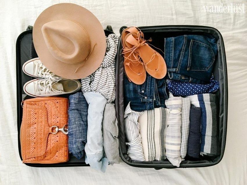 10 gợi ý giúp sắp xếp hành lý gọn nhẹ khi đi du lịch -5