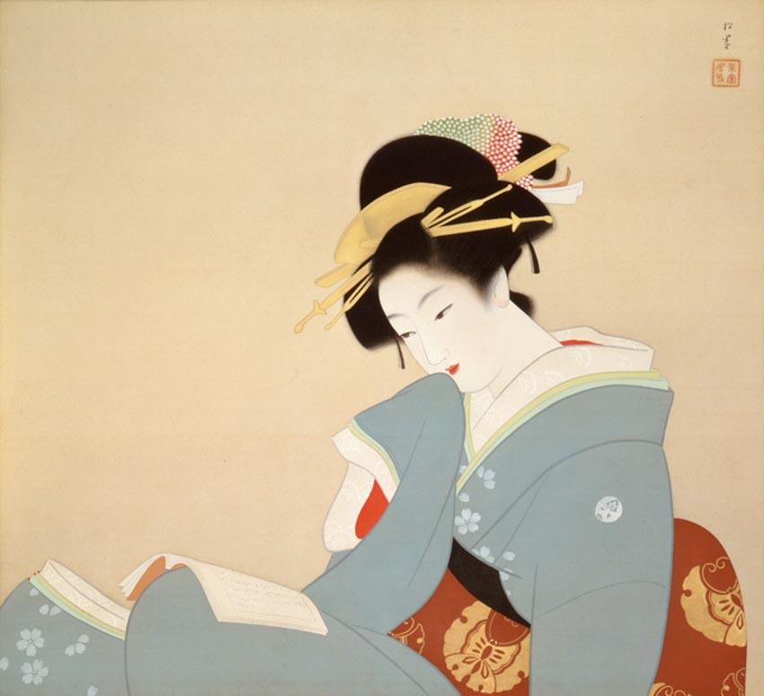 Ikenaga Yasuaki, hoạ sĩ đương đại hồi sinh dòng tranh bijinga của Nhật Bản -2