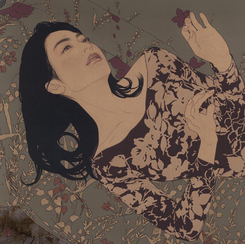 Ikenaga Yasuaki, hoạ sĩ đương đại hồi sinh dòng tranh bijinga của Nhật Bản -4