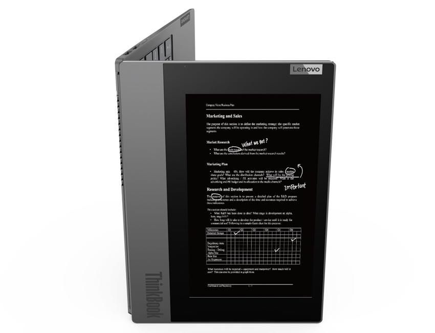 Lenovo ra mắt ThinkBook Plus hiện đại hóa làm việc đa nhiệm -1