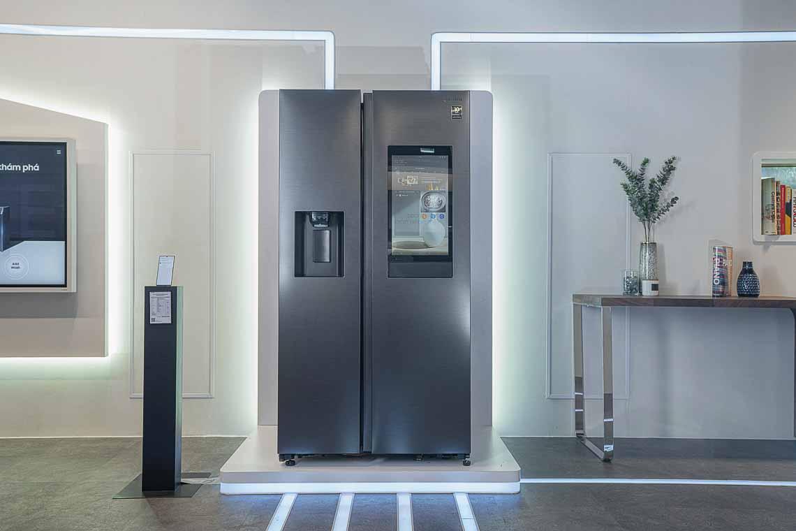 Samsung lần đầu tiên ra mắt tủ lạnh thông minh Family Hub tại thị trường Việt Nam 8