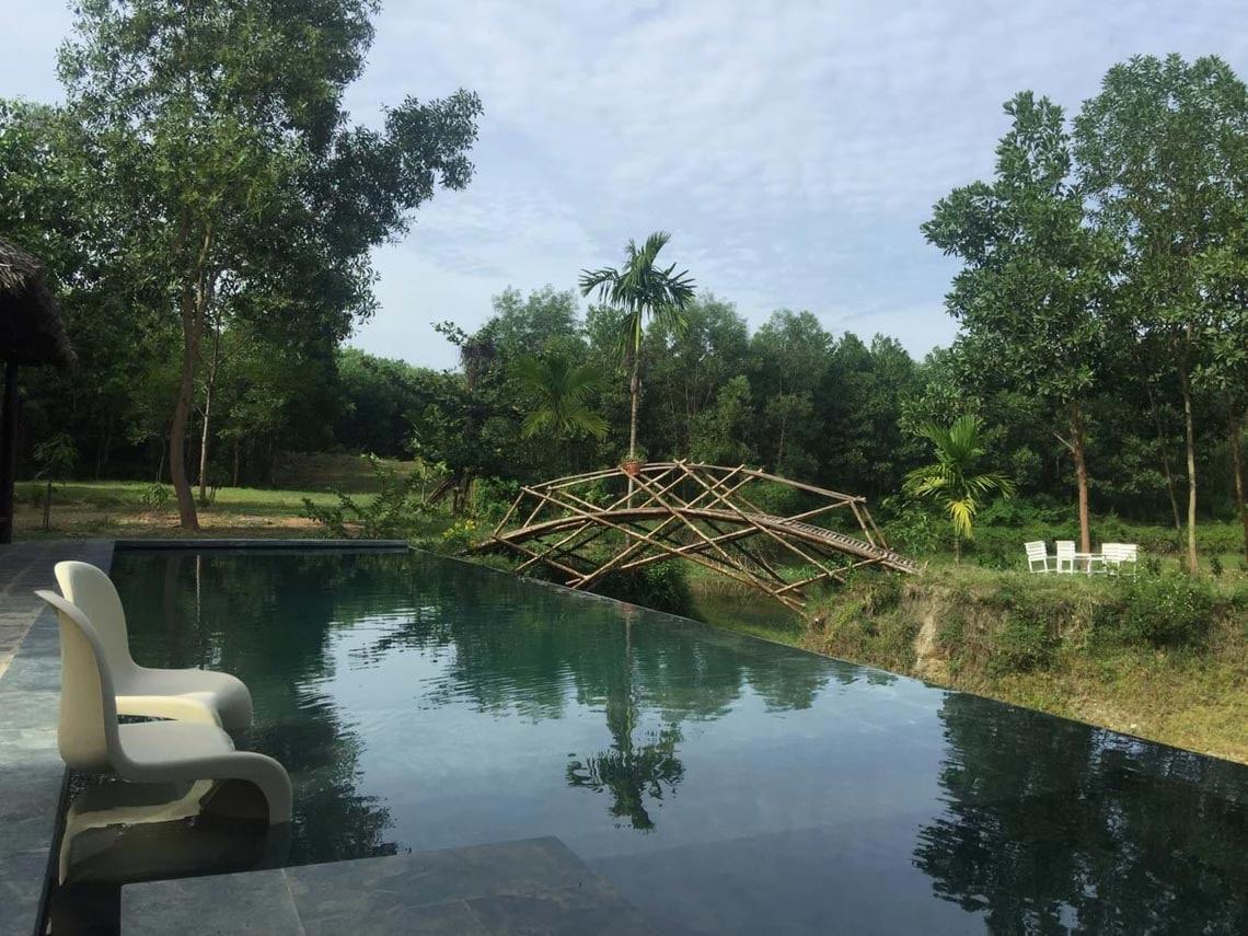 Cuộc sống tiên cảnh tại ngôi nhà bên sườn đồi ở Đà Nẵng -1