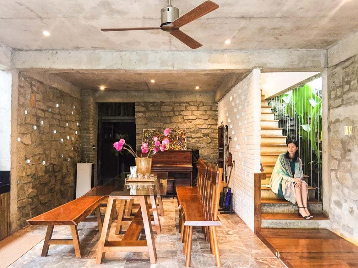 Cuộc sống tiên cảnh tại ngôi nhà bên sườn đồi ở Đà Nẵng -4