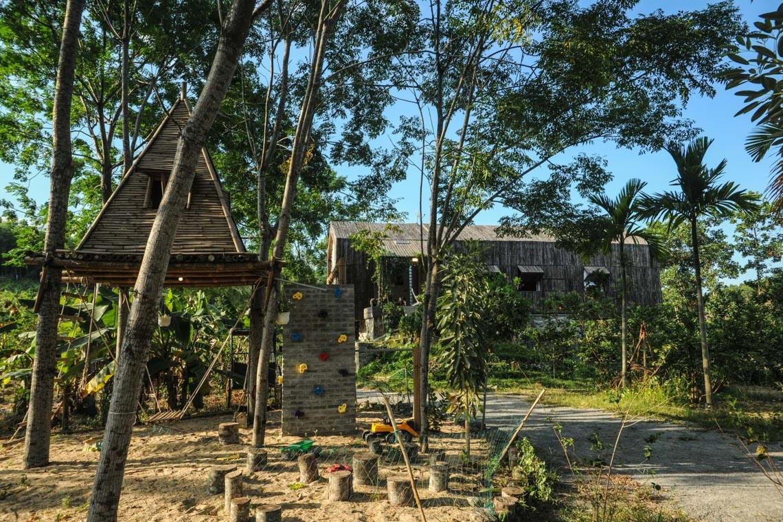 Cuộc sống tiên cảnh tại ngôi nhà bên sườn đồi ở Đà Nẵng -13