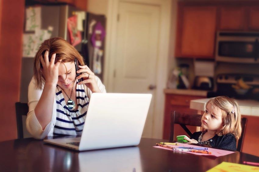 Hệ lụy khi cha mẹ cố kìm nén sự căng thẳng đối với con cái -1