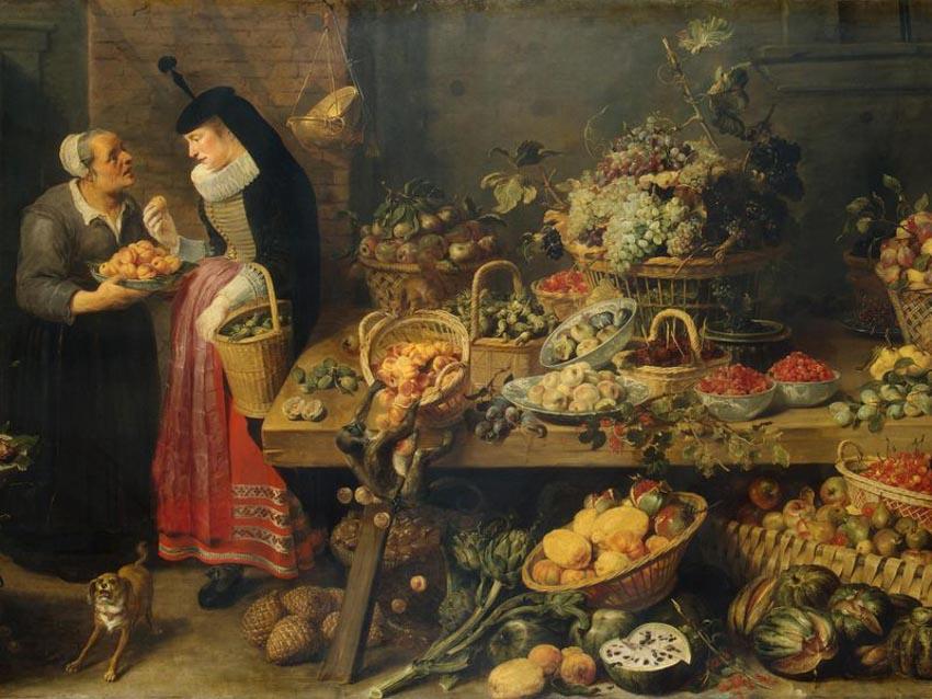 Hiểu cội nguồn thực phẩm từ hội họa -3