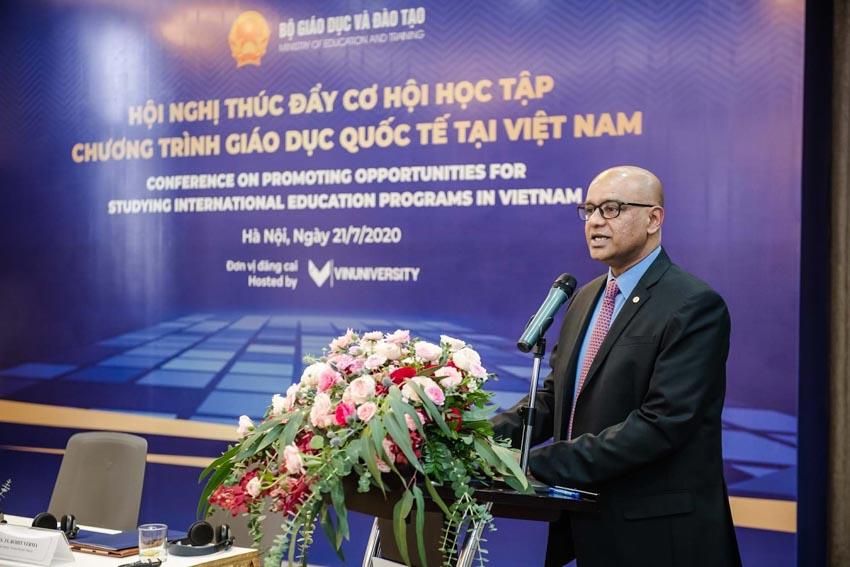 Hiệu trưởng trường Đại học VinUni: Việt Nam có thể trở thành điểm đến của sinh viên các trường đại học xuất sắc của thế giới! -3