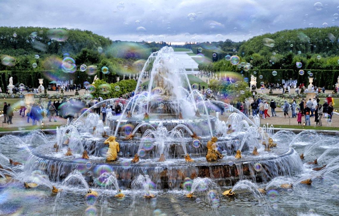 Lộng lẫy cung điện Versailles ở Pháp -5