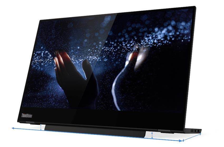 Màn hình di dộng Lenovo ThinkVision M14t truyền cảm hứng cho môi trường làm việc linh hoạt -2