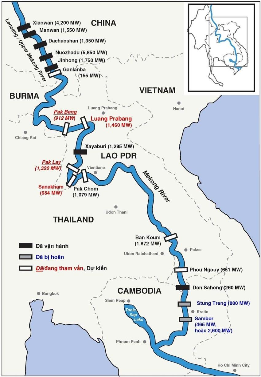 Những ngày cuối của dòng Mekong hùng vĩ -1