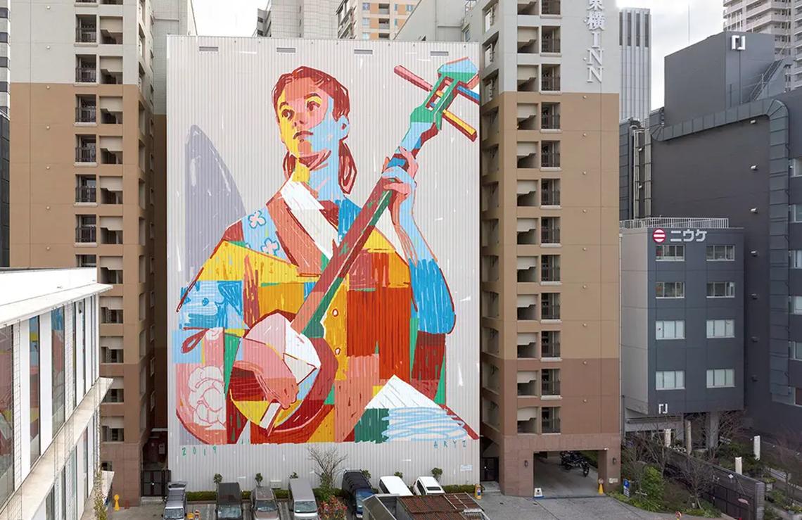 Những thiên tài trong nghệ thuật đường phố -3