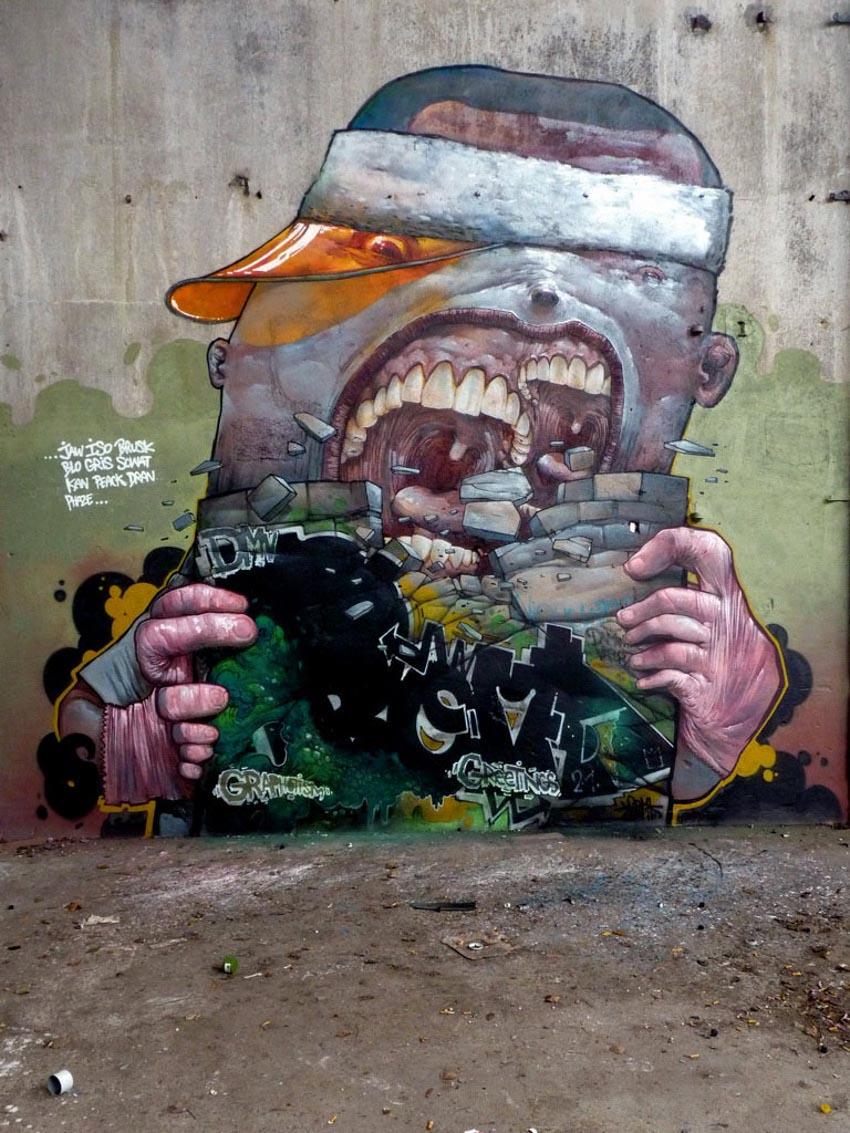 Những thiên tài trong nghệ thuật đường phố -16