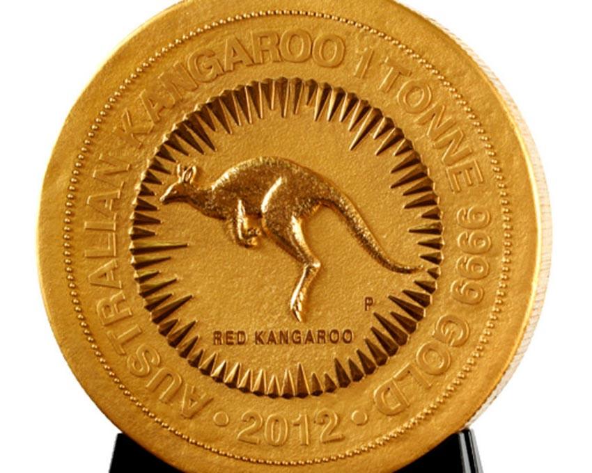 Thú vị tiền xu nhỏ và lớn nhất thế giới -8