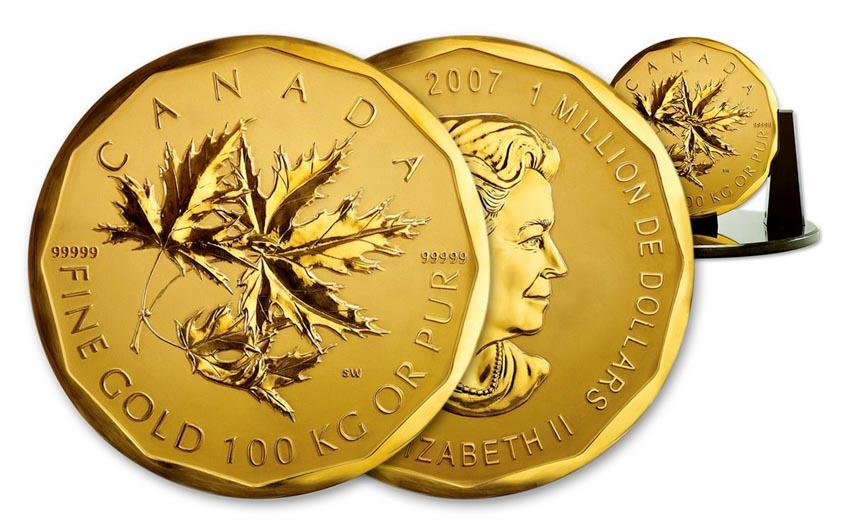 Thú vị tiền xu nhỏ và lớn nhất thế giới -13