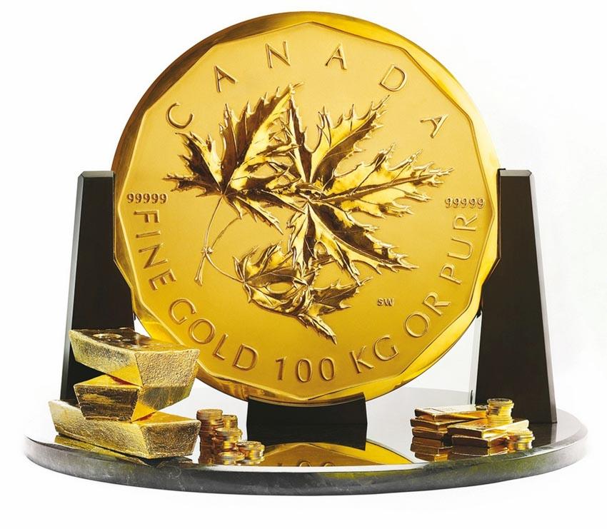 Thú vị tiền xu nhỏ và lớn nhất thế giới -14