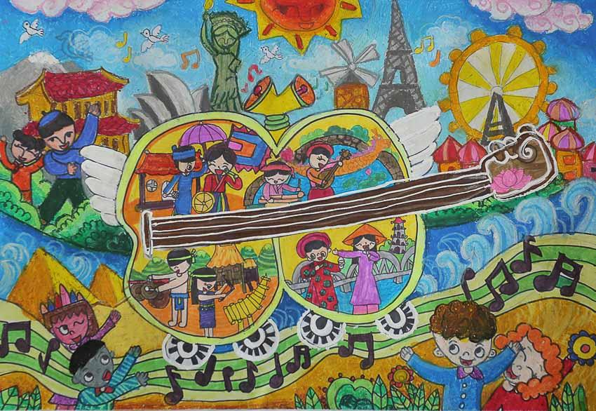 """Toyota Việt Nam phát động Cuộc thi Vẽ tranh Quốc tế Toyota """"Chiếc ô tô mơ ước"""" năm 2020 - 4"""