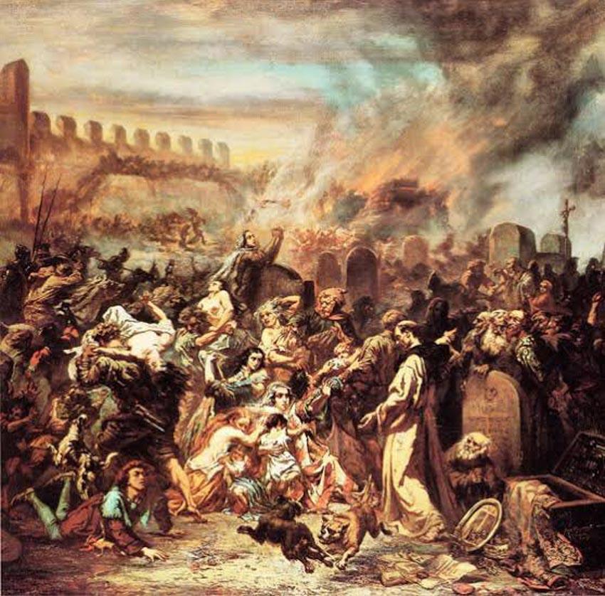Trận đại dịch đen vào thế kỷ 14 -2