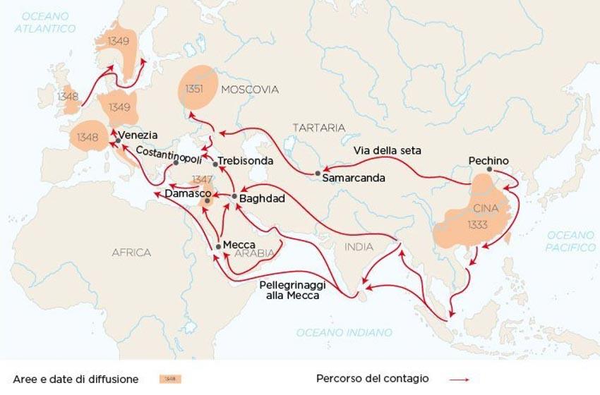 Trận đại dịch đen vào thế kỷ 14 -4