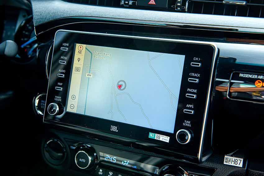 Toyota Hilux 2020 cải tiến thiết kế, công nghệ an toàn vận hành và tiện nghi 16