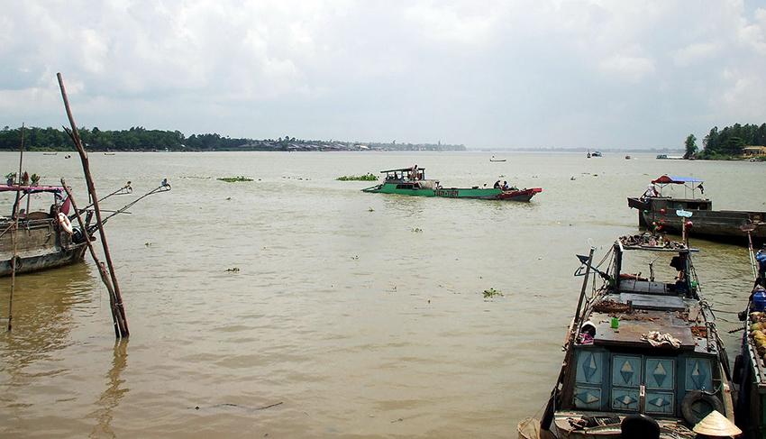 Một góc sông Vàm Nao