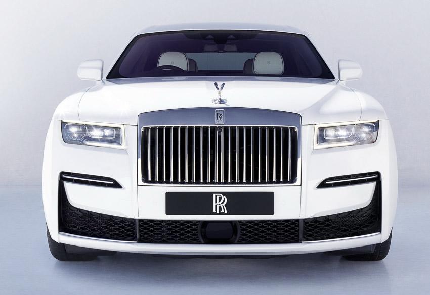 Rolls-Royce Ghost 2021 trình làng với thiết kế truyền thống - 1
