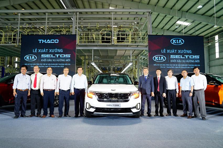 Kia Seltos chính thức xưởng với ba phiên bản phiên bản và áp dụng giá mới - 1