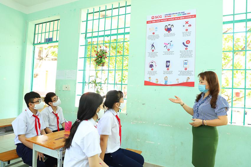 SCG đồng hành khởi động năm học mới tại trường nuôi dạy trẻ khuyết tật tỉnh Bà Rịa - Vũng Tàu - 2