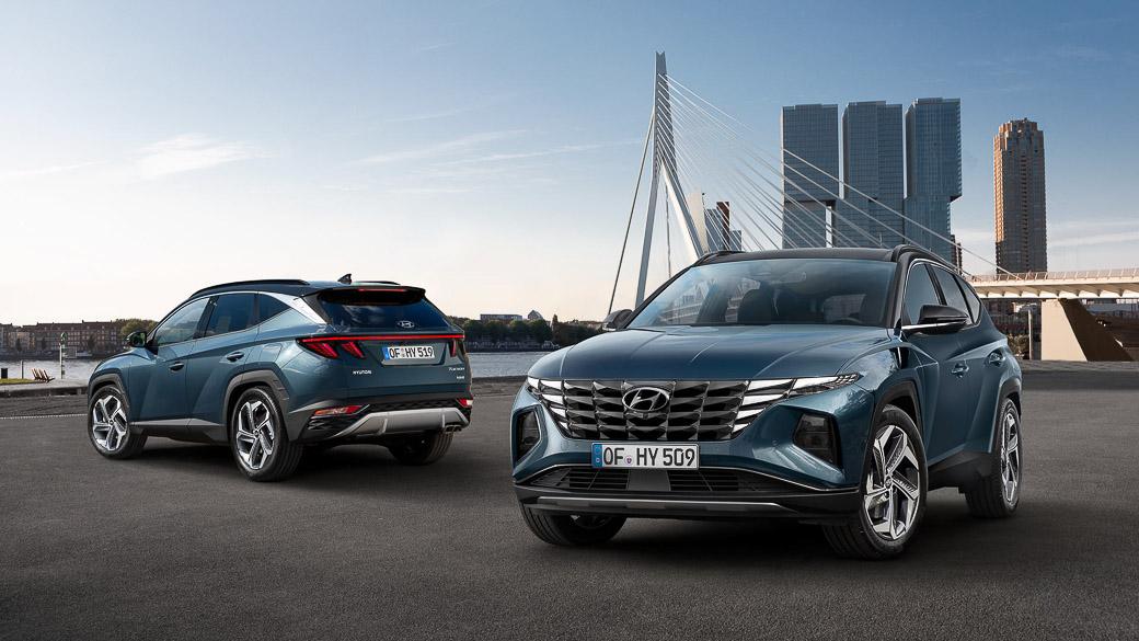 Hyundai Tucson 2021 lộ diện tại Mỹ trước Hàn Quốc 18