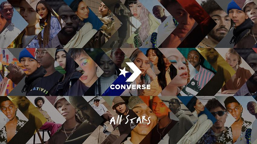 Converse nhân rộng sức ảnh hưởng với chiến lược All-Stars Series 4