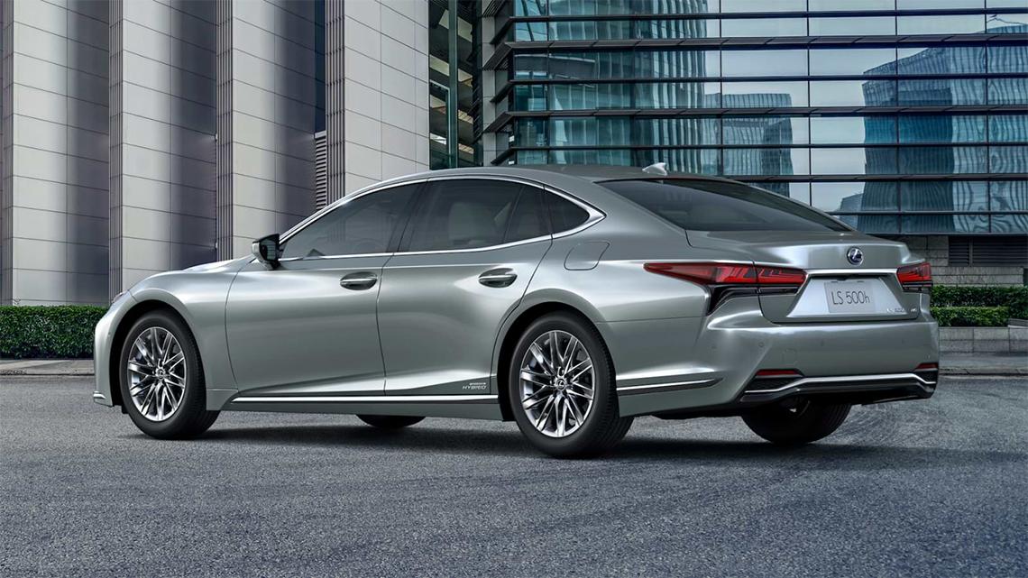 Lexus LS phiên bản 2021 nâng cấp cho thị trường Châu Âu - 29