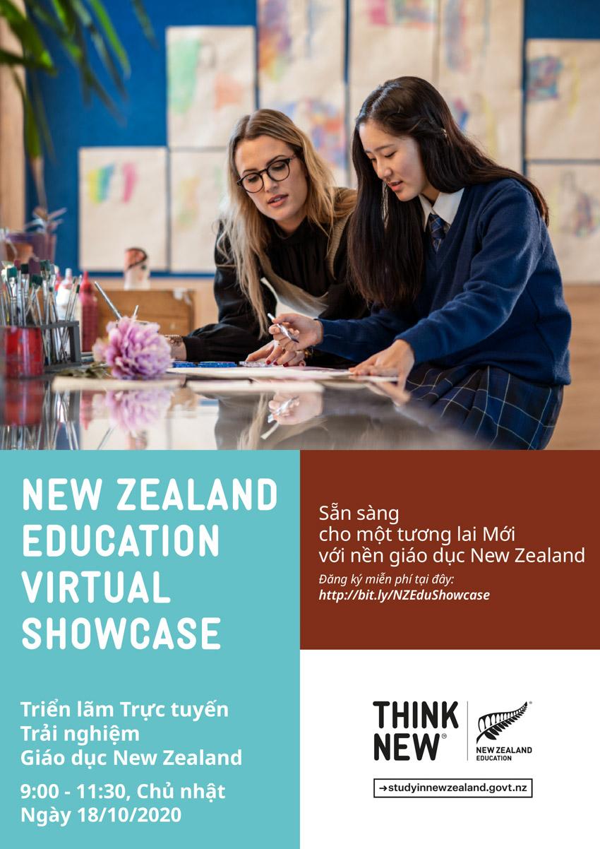 Triển lãm trực tuyến trải nghiệm giáo dục New Zealand lần đầu tiên tổ chức tại Việt Nam - 6