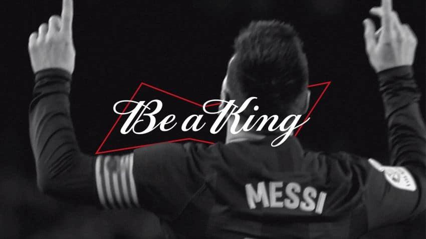 Messi đại sứ Budweiser
