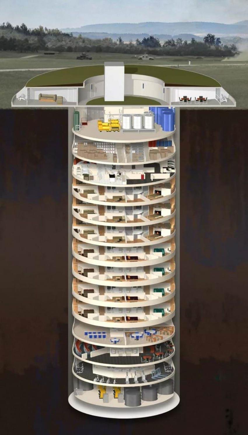 Bên trong hầm trú ẩn dành cho giới siêu giàu -4