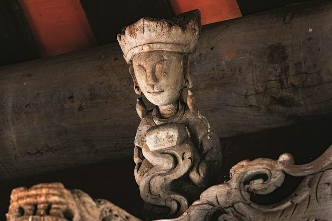 Đình Tây Đằng: Vẻ đẹp kiến trúc gỗ tiêu biểu thời Mạc -4