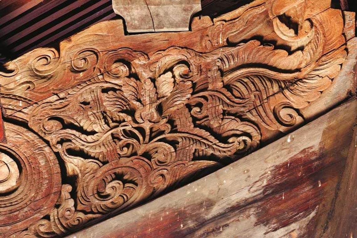 Đình Tây Đằng: Vẻ đẹp kiến trúc gỗ tiêu biểu thời Mạc -7