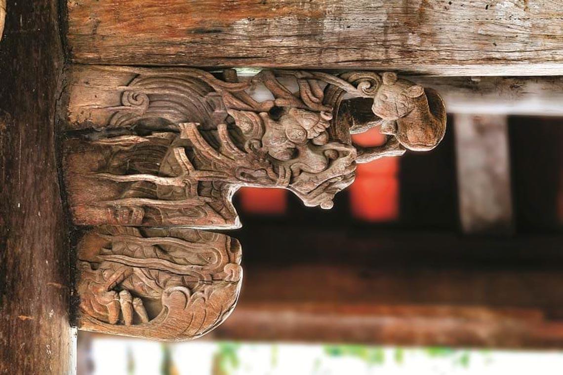 Đình Tây Đằng: Vẻ đẹp kiến trúc gỗ tiêu biểu thời Mạc -8