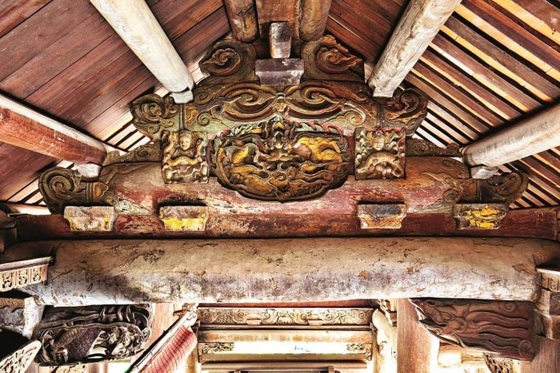 Đình Tây Đằng: Vẻ đẹp kiến trúc gỗ tiêu biểu thời Mạc -9
