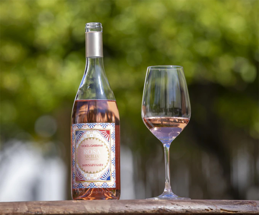 Rượu vang hồng Rosa vùng Sicilian mang tên Dolce & Gabbana - 10