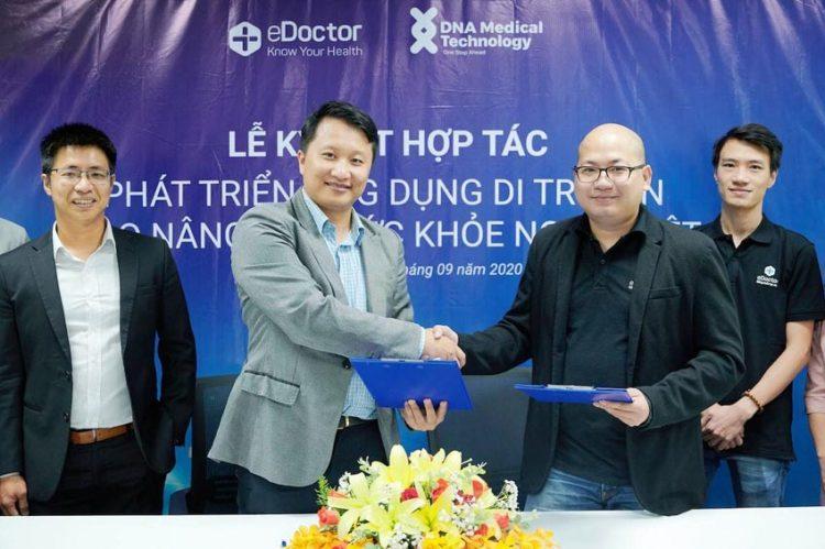 eDoctor hợp tác DNA cung cấp dịch vụ phân tích di truyền chuẩn quốc tế cho người Việt