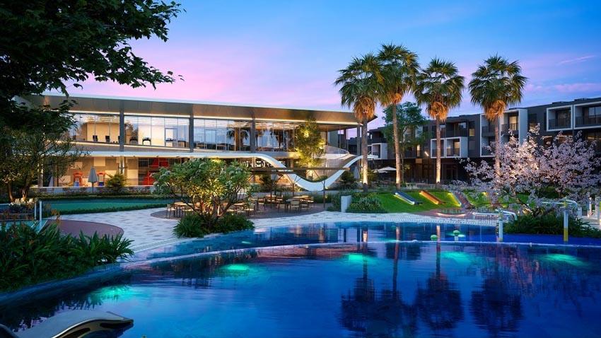 Khám phá Clubhouse phong cách resort trong khu biệt lập Bình Dương -4