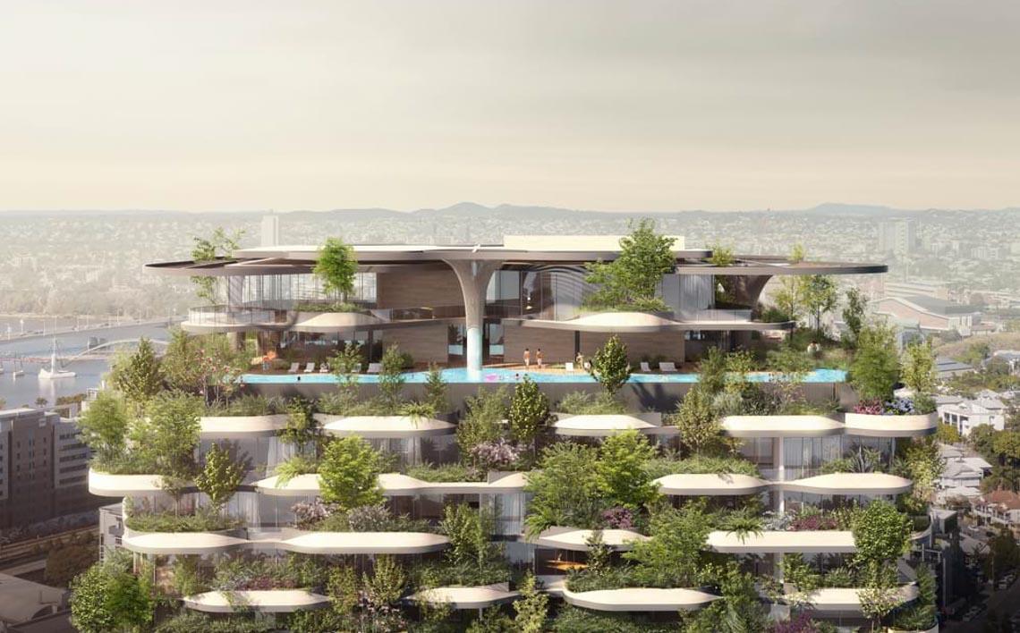 'Khu rừng thẳng đứng' bao trọn 382 căn hộ với 21.000 cây xanh -4