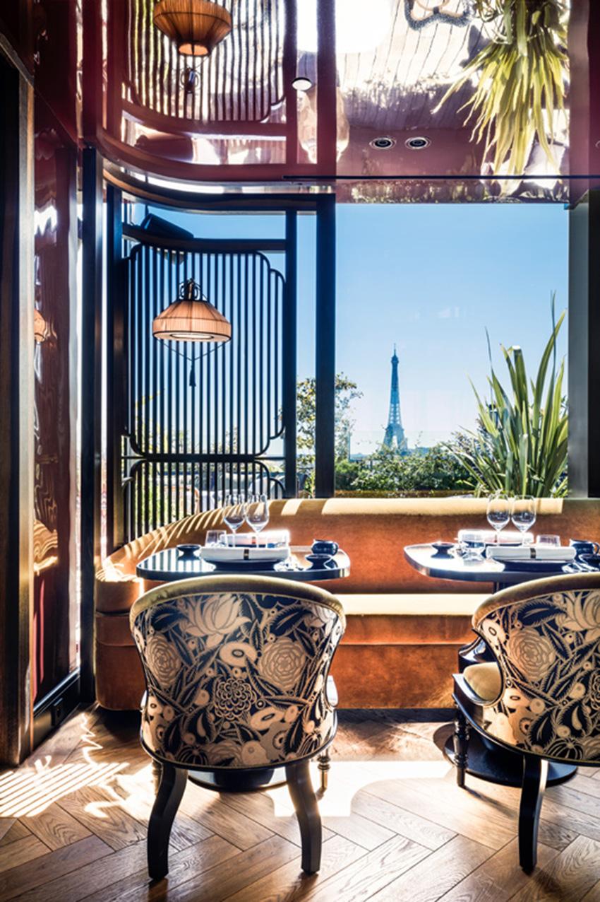 Khám phá nhà hàng Mun và tầng thượng đặc biệt trên đại lộ Champs-Elysées - 2
