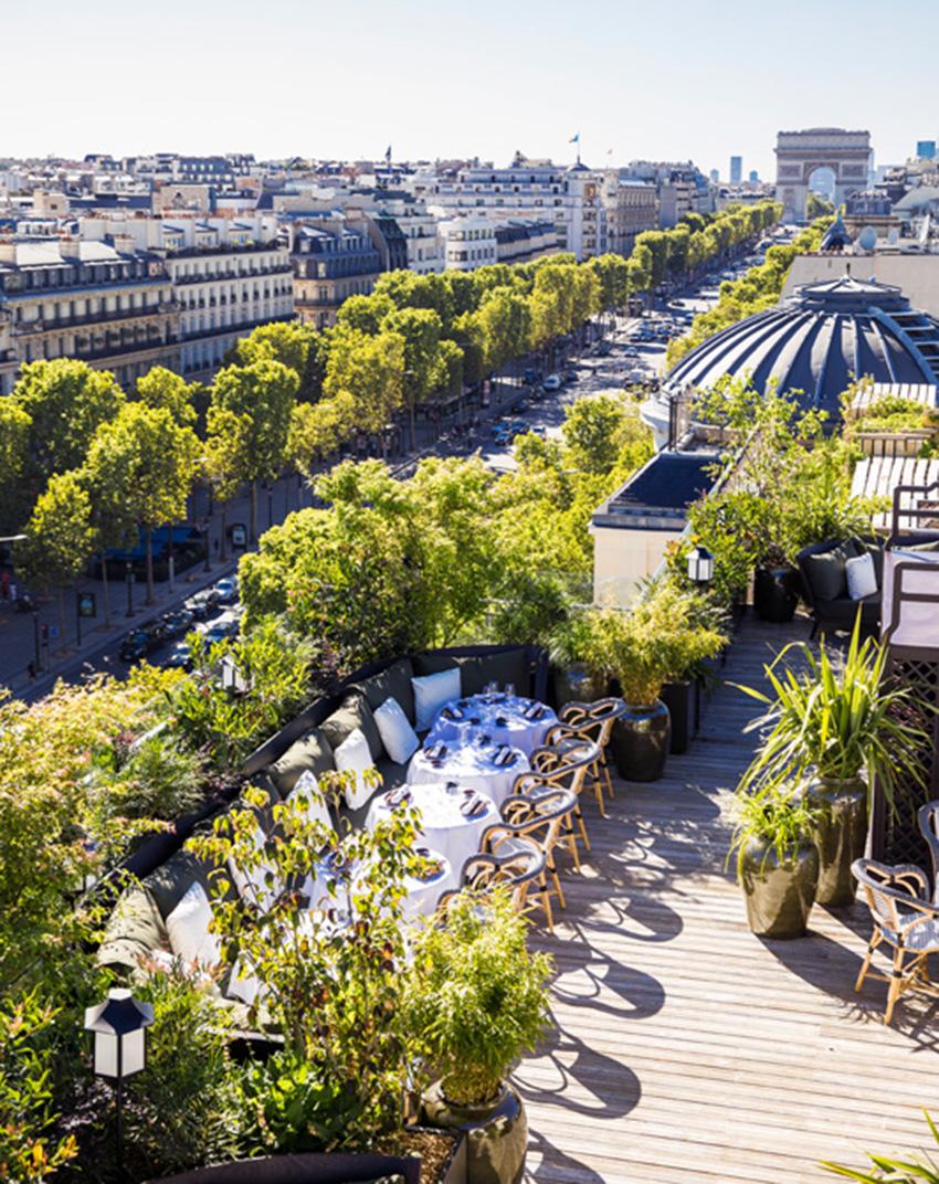 Khám phá nhà hàng Mun và tầng thượng đặc biệt trên đại lộ Champs-Elysées - 4
