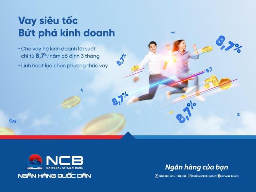NCB dành thêm 2.000 tỉ đồng cho vay ưu đãi với khách hàng cá nhân -1