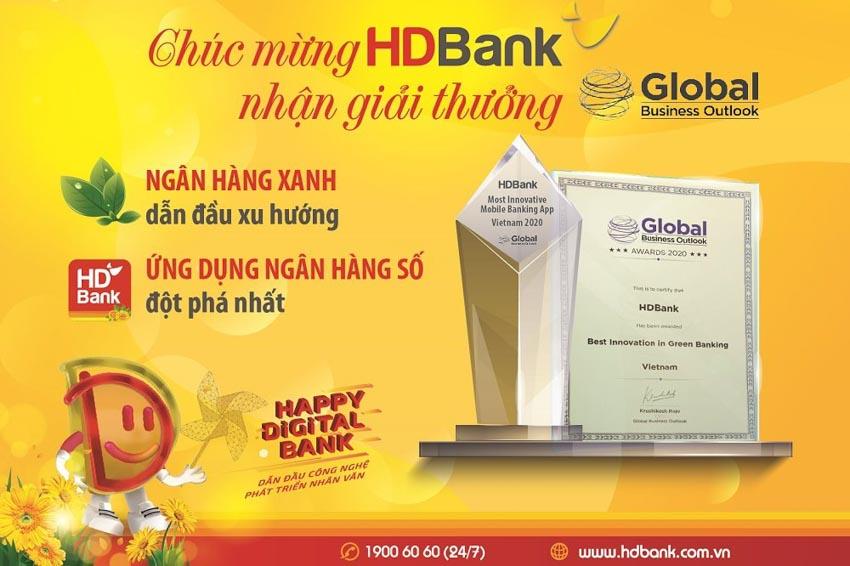 Ngân hàng số, ngân hàng xanh HDBank tiếp tục nhận giải thưởng quốc tế -1