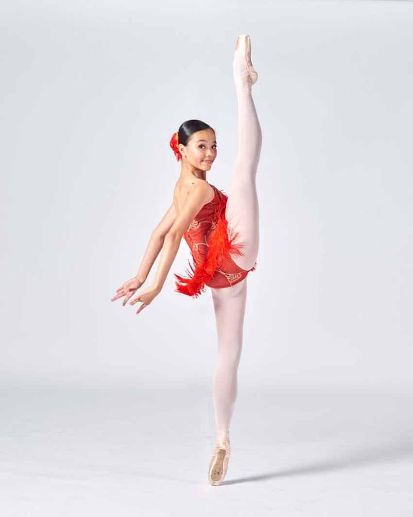 Trần Hà Nhi:   Tuổi 17 thênh thang của một nghệ sĩ ballet -2