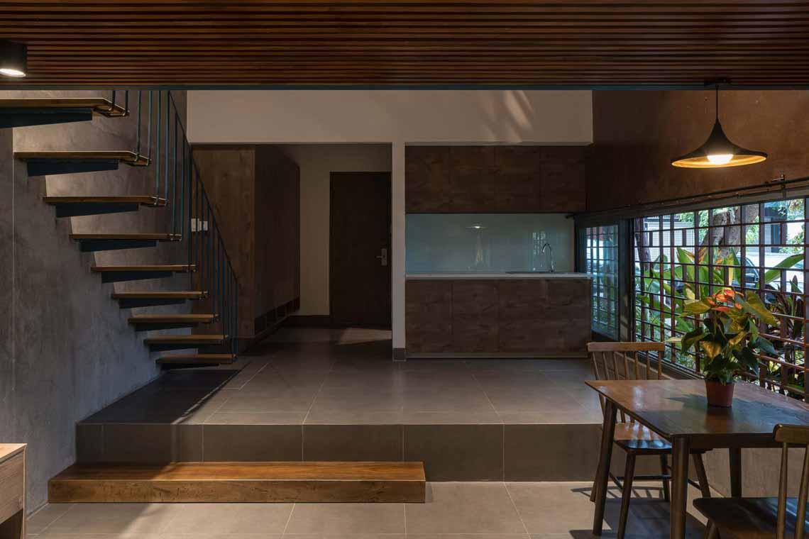 Ngôi nhà được gắn kết từ nhiều 'nhà gỗ' khác nhau tại Vũng Tàu -10