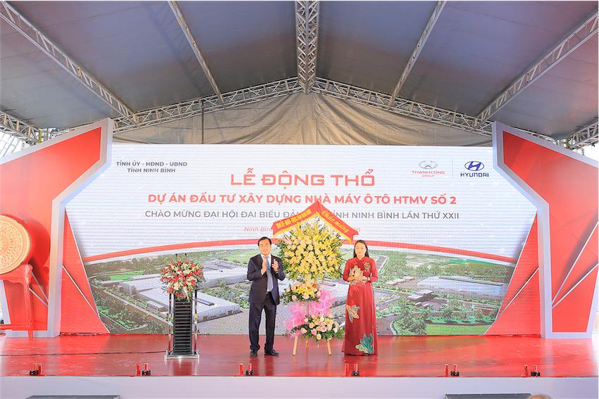 Tập đoàn Thành Công động thổ dự án Nhà máy Hyundai Thành Công số 2 tại Ninh Bình - 1