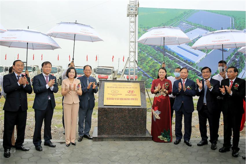 Tập đoàn Thành Công động thổ dự án Nhà máy Hyundai Thành Công số 2 tại Ninh Bình - 4